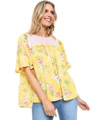 blusa amarilla emmao spain