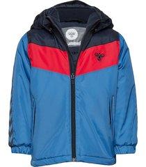 hmlstaale jacket gevoerd jack blauw hummel