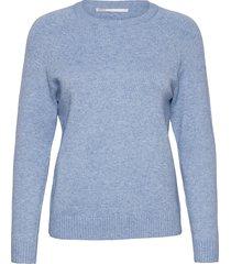 onllesly kings l/s pullover knt noos stickad tröja blå only