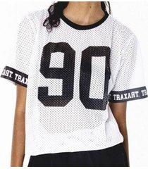 camiseta traxart long line feminina - dv-141 - feminino