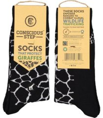 conscious step socks that protect giraffes