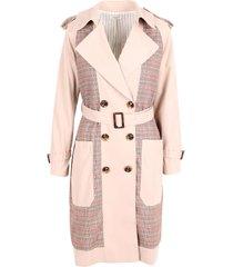jovonna london taralita polyester trench coat
