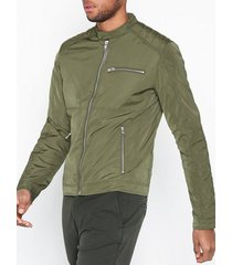solid alex jacket jackor green