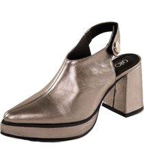 zapato eva plata caro criado