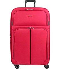 maleta de viaje tipo cabina rojo speed - explora