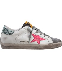 scarpe sneakers donna in pelle superstar