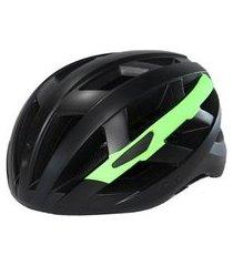 capacete vessel security c/ luz e viseira mtb ciclismo bike