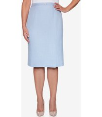 alfred dunner petite french bistro embellished skirt