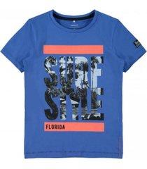 name it blauw t-shirt zalte