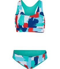 bikini a bustier double face (set 2 pezzi) (bianco) - bpc bonprix collection