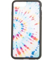 wildflower tie dye iphone 6/7/8 plus case -
