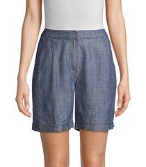 tourist high-waist fleet 2 chambray shorts