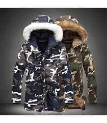 l16 fashion winter jacket men camouflage parkas men military coats male thicken
