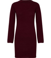 dress vilhelmina burgundy jurk knielengte rood dedicated