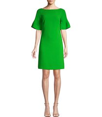 soujourn 2 bell-sleeve crepe sheath dress