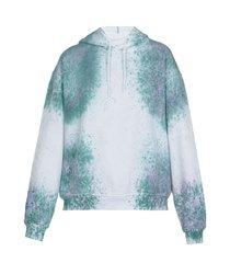 mcq alexander mcqueen breathe: regular hoodie