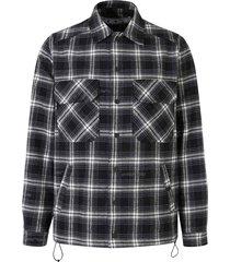 gecontroleerd flanel jacket
