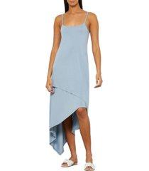 bcbgmaxazria asymmetrical slip dress