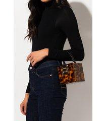 akira lovely day tortoise acrylic box purse