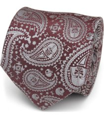 star wars darth vader paisley men's tie
