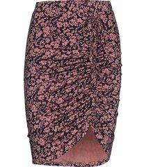 skirt knälång kjol multi/mönstrad rosemunde