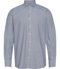 bs beek skjorta casual blå bruun & stengade