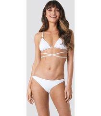 trendyol ess bikini bottom - white