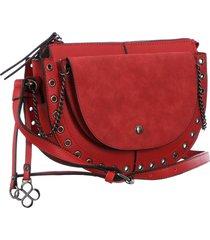 bolsa fedra f6035 vermelho