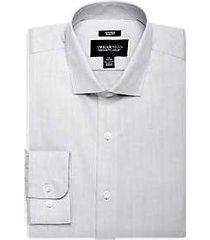 awearness kenneth cole light gray slim fit dress shirt