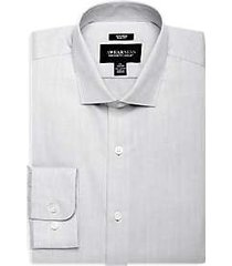 awearness kenneth cole light gray slim fit dress shirt