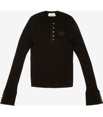 b-chain sweater black 40