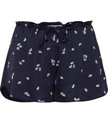 emme hotpants shorts flowy shorts/casual shorts blå designers, remix