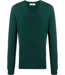 pringle of scotland v-neck sweatshirt - green