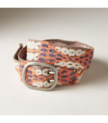 women's river stones wool belt