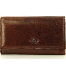 the bridge brown story donna flap wallet