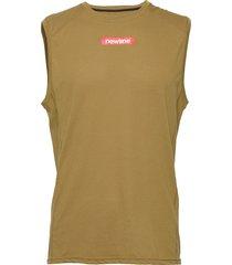 men's tank t-shirts sleeveless grön newline
