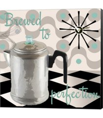 fifties kitchen v by color bakery canvas art