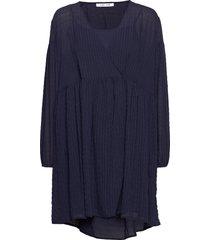 jolie short dress 11156 kort klänning blå samsøe samsøe