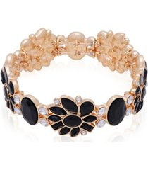 t tahari candied floral stretch bracelet