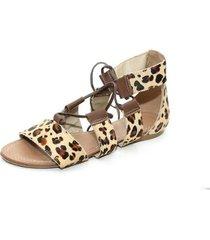 sandalia gladiadora top franca shoes feminina