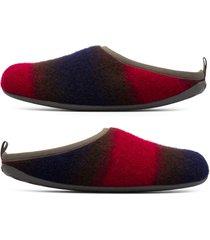 camper twins, pantofole uomo, marrone/blu/rosso , misura 46 (eu), k100516-002