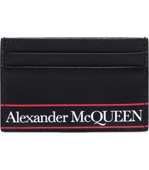 alexander mcqueen logo card holder
