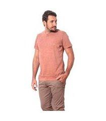 camiseta básica estonada berry salt 35g masculina