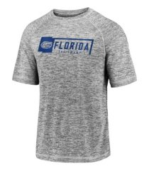 majestic florida gators men's iconic striated t-shirt