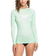 women's whole hearted long sleeve rash guard women's swimsuit