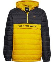 mn carlon anorak puf outerwear jackets anoraks geel vans