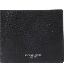 michael kors logo detail inside logo pouch wallet