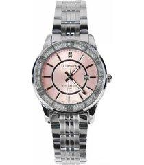 reloj casio ltp-1358d-4a-gris