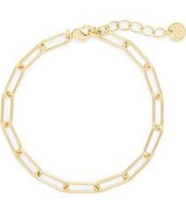 brook & york 14k gold plated colette bracelet