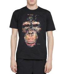 junya watanabe black ape t-shirt